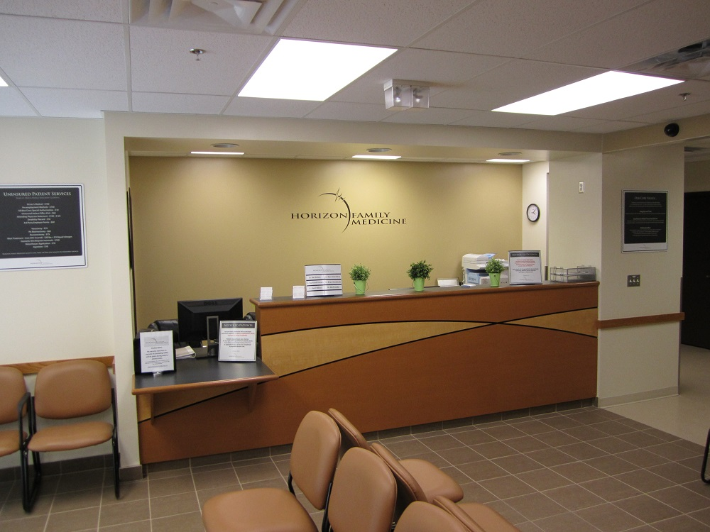 primacy clinic lobby design and decor